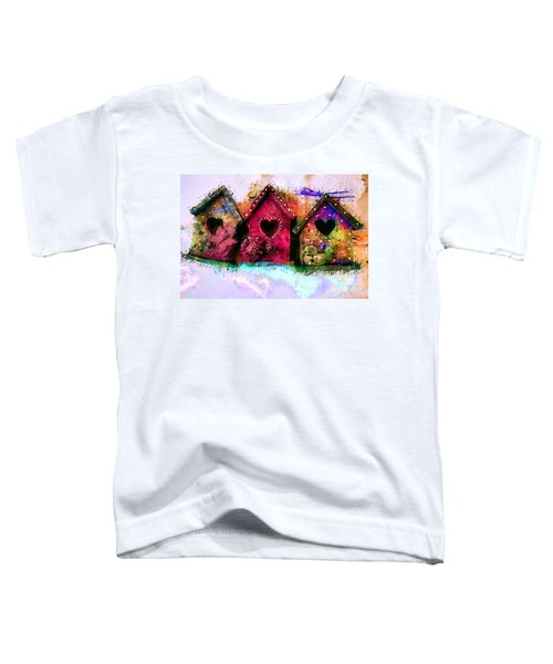 Baby Birdhouses Toddler T-Shirt