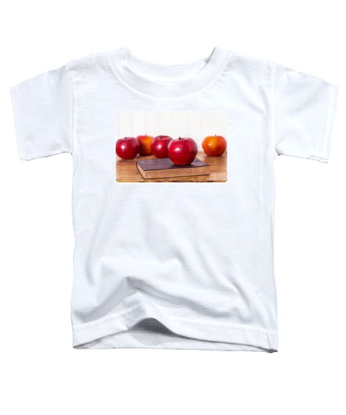 Back To School Apples Toddler T-Shirt