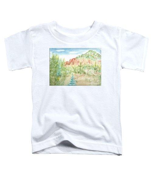 Backyard Sedona Toddler T-Shirt