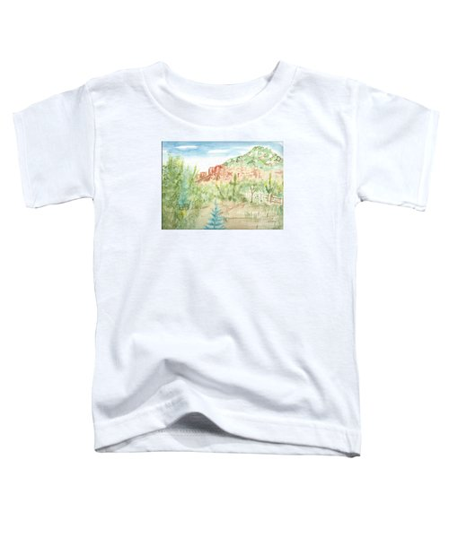 Backyard Sedona Toddler T-Shirt