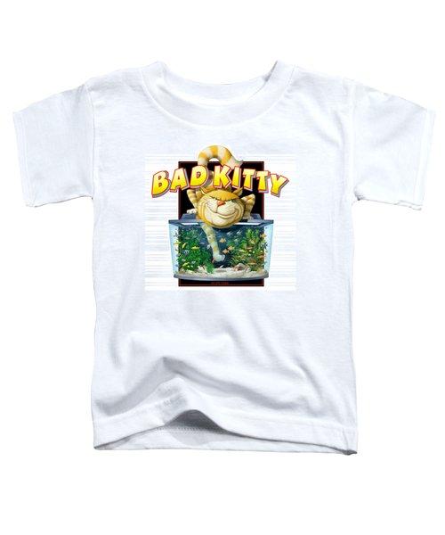Bad Kitty Toddler T-Shirt