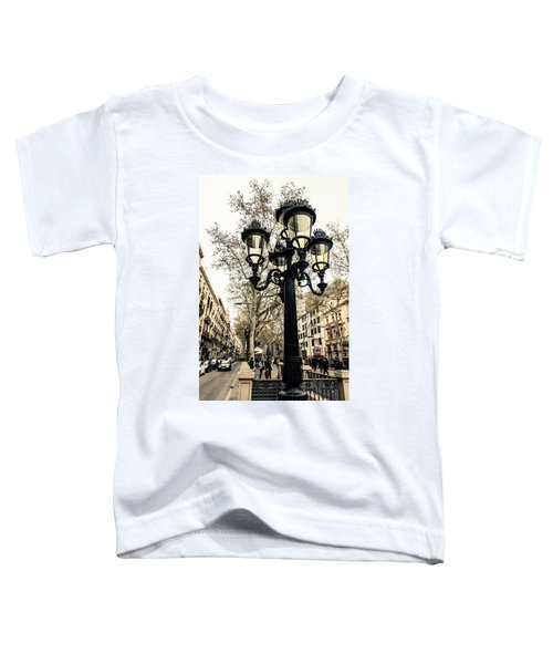 Barcelona - La Rambla Toddler T-Shirt