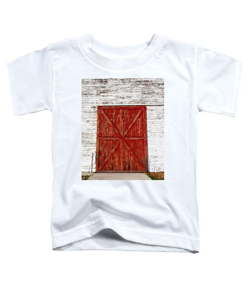 Barn Door Toddler T-Shirt