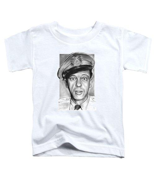 Barney Fife Toddler T-Shirt