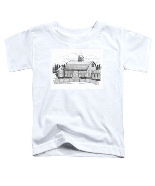 Barrytown Barn Toddler T-Shirt