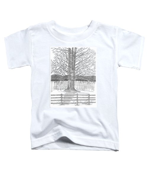 Barrytown Tree Toddler T-Shirt