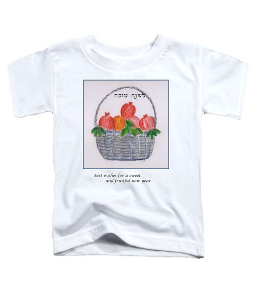 Basket For The New Year Toddler T-Shirt