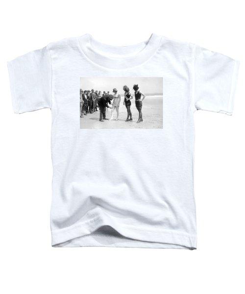 Bathing Suit Fashion Police Toddler T-Shirt