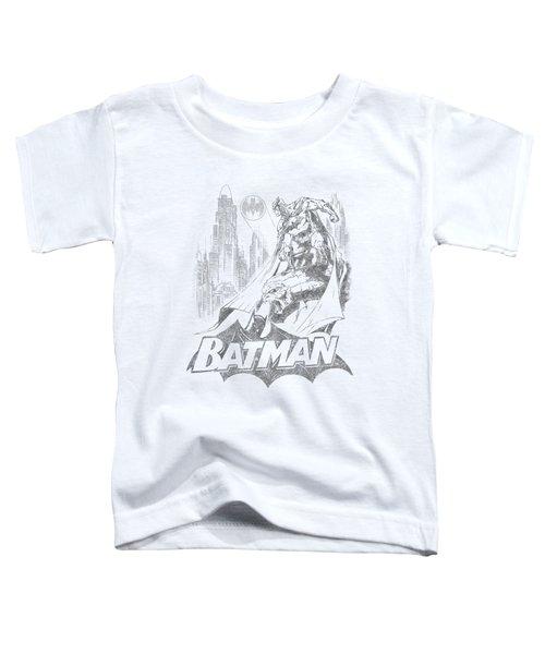 Batman - Bat Sketch Toddler T-Shirt