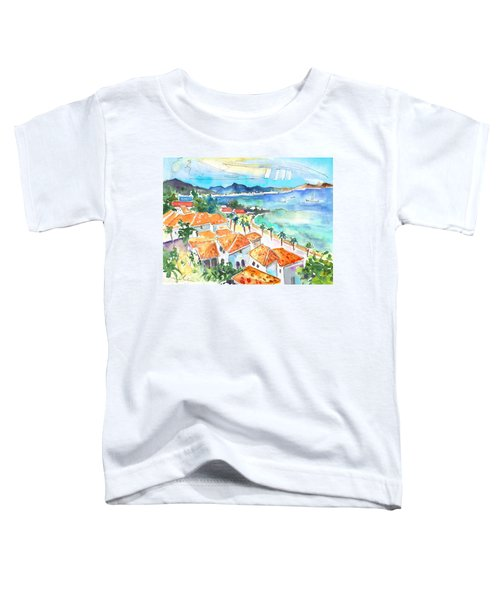 Bay Of Saint Martin Toddler T-Shirt