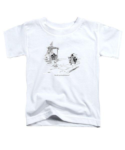 Be Still, My Atrial Fibrillations! Toddler T-Shirt