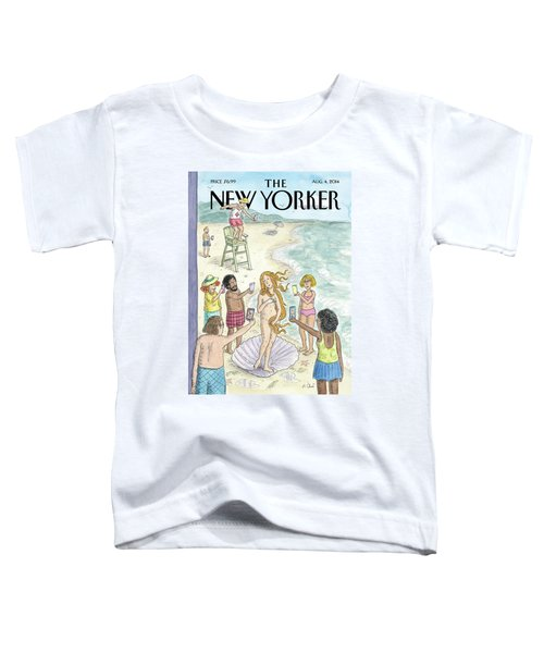 Venus On The Beach Toddler T-Shirt