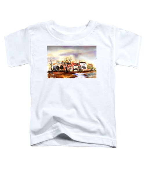 Behind The Strand In New Castle Toddler T-Shirt