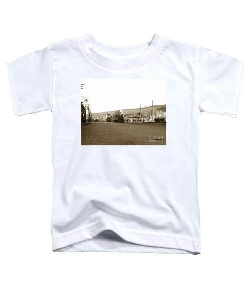 Berkeley California Train Station Circa 1902 Toddler T-Shirt