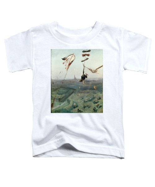 Between Heaven And Earth, 1862 Oil On Canvas Toddler T-Shirt