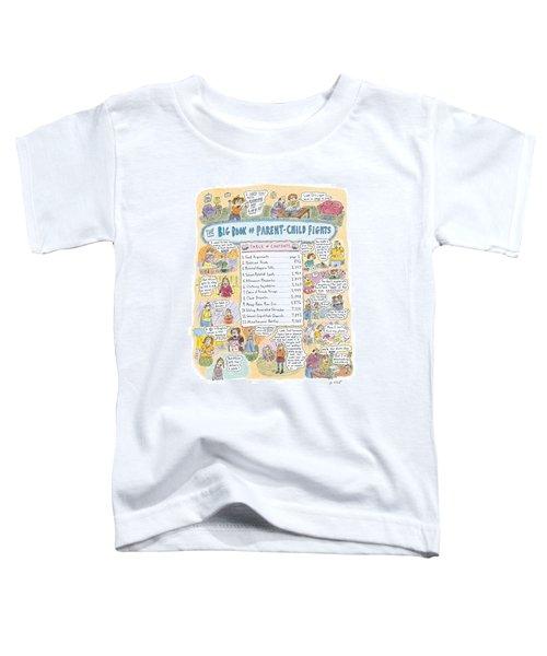 'big Book Of Parent-child Fights' Toddler T-Shirt
