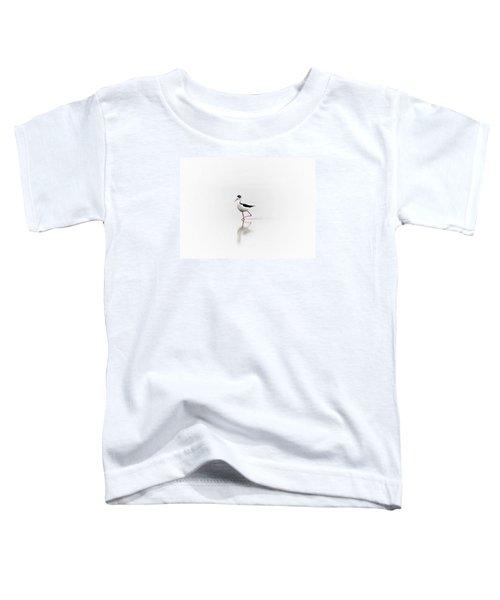 Black Necked Stilt Toddler T-Shirt
