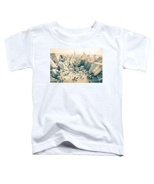 Bleached Manhattan Toddler T-Shirt