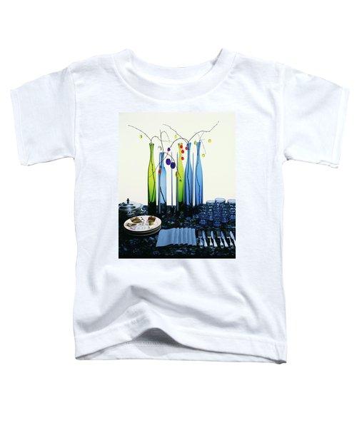 Blenko Glass Bottles Toddler T-Shirt