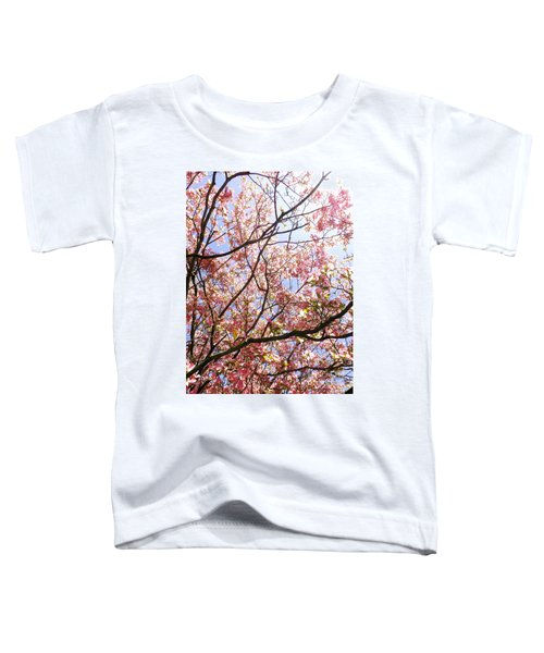 Blossoming Pink Toddler T-Shirt