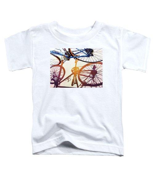 Blue Bike Toddler T-Shirt