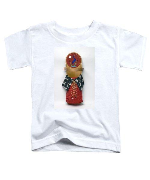 Blue Crane Cradleboard Toddler T-Shirt
