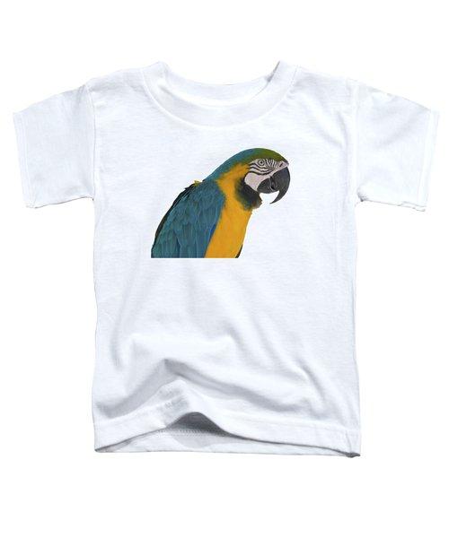 Blue Gold Macaw Toddler T-Shirt