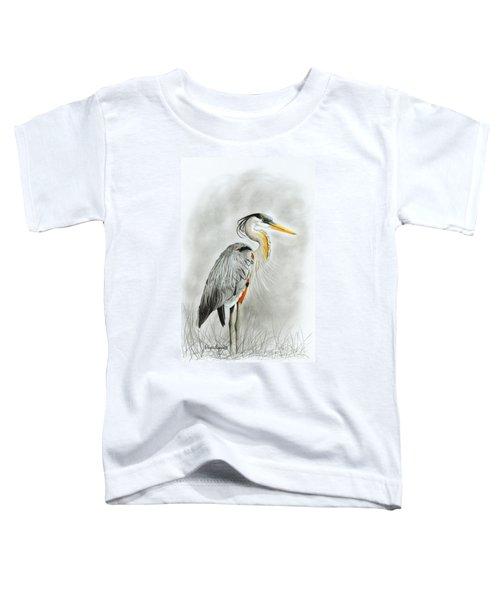 Blue Heron 3 Toddler T-Shirt