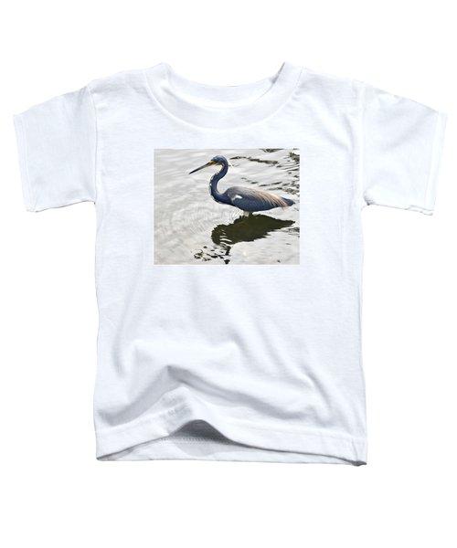 Blue Heron Toddler T-Shirt