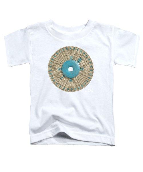 Blue Howlite Toddler T-Shirt