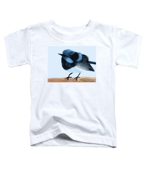 Blue Wren Beauty Toddler T-Shirt