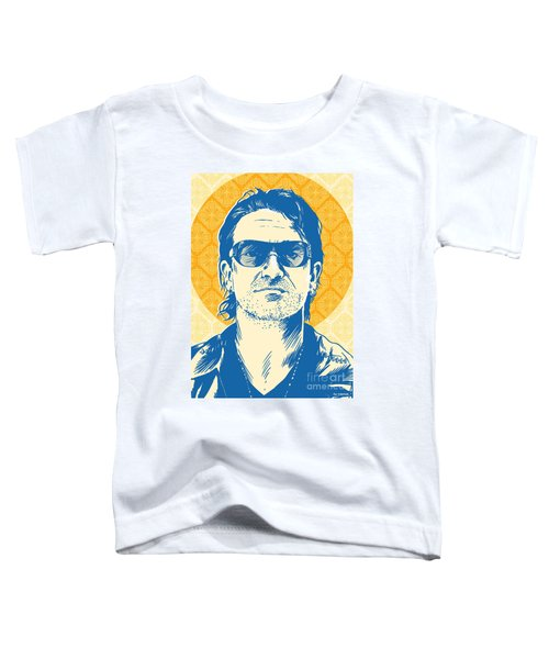 Bono Pop Art Toddler T-Shirt