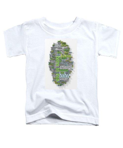 Born To Run Toddler T-Shirt by Scott Norris