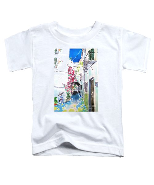 Bougainvillea Path  Toddler T-Shirt