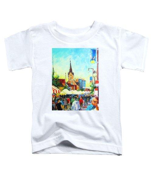 Brady Street Toddler T-Shirt