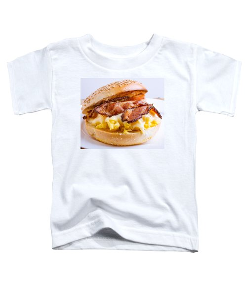 Breakfast Sandwich Toddler T-Shirt