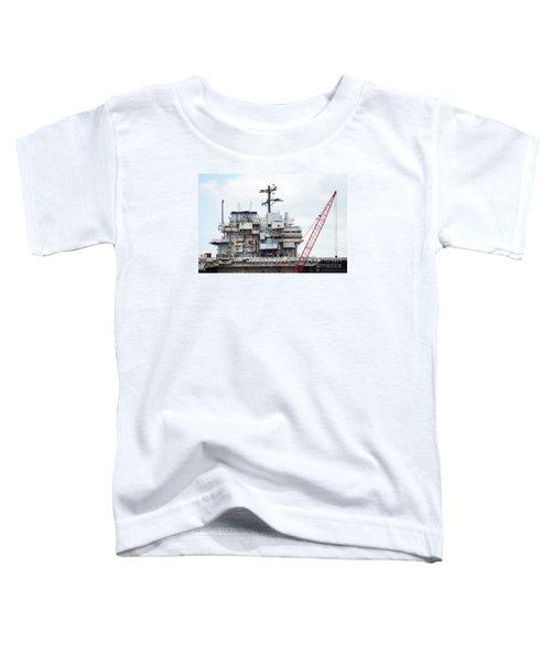 Uss Forrestal Bridge Toddler T-Shirt