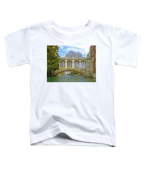 Bridge Of Sighs Cambridge Toddler T-Shirt