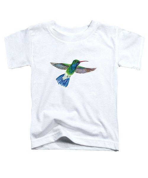 Broadbilled Fan Tail Hummingbird Toddler T-Shirt