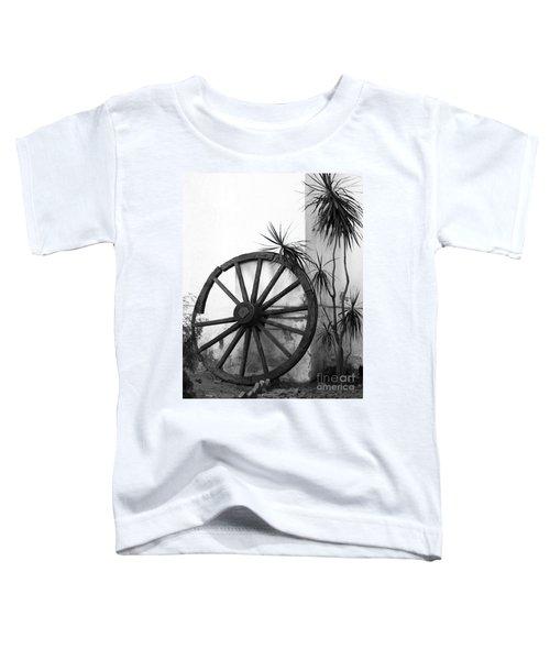 Broken Wheel Toddler T-Shirt