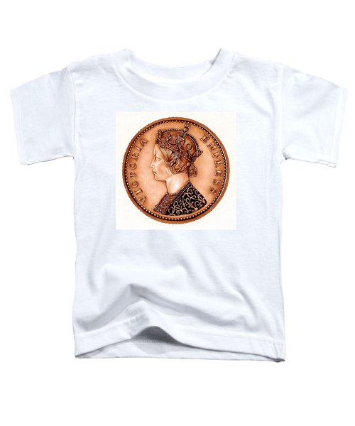 Bronze Empress Victoria Toddler T-Shirt