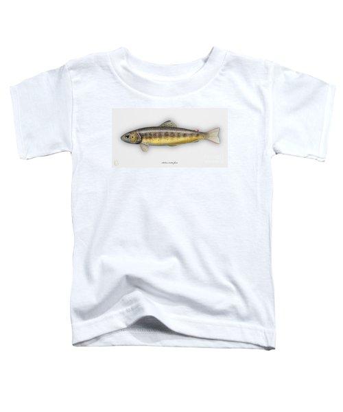 Brown Trout - Salmo Trutta Morpha Fario - Salmo Trutta Fario - Game Fish - Flyfishing Toddler T-Shirt