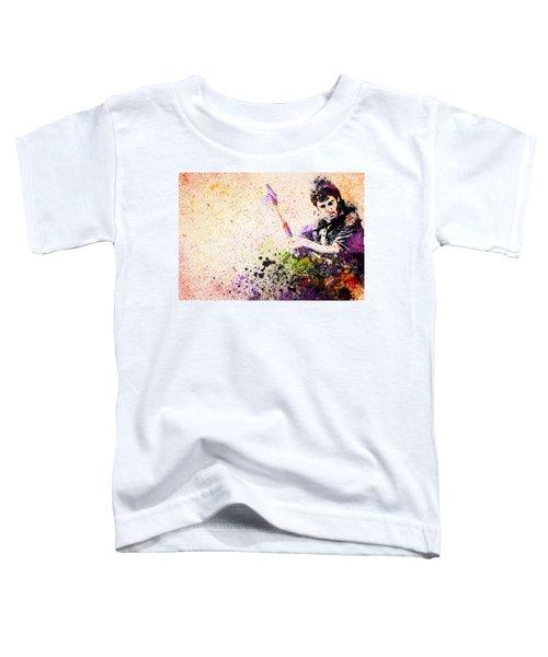 Bruce Springsteen Splats 2 Toddler T-Shirt by Bekim Art