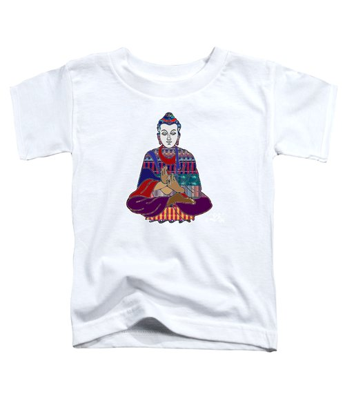 Buddha In Meditation Buddhism Master Teacher Spiritual Guru By Navinjoshi At Fineartamerica.com Toddler T-Shirt