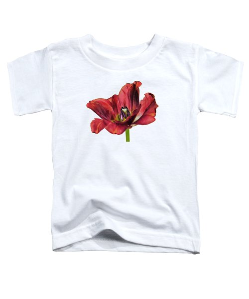 Burning Tulip Toddler T-Shirt