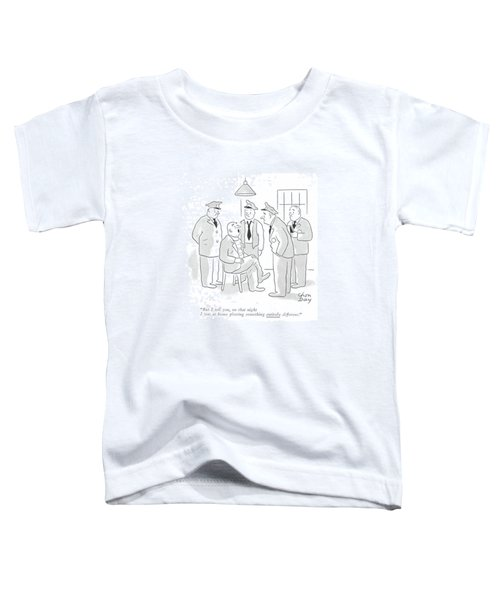 But I Tell Toddler T-Shirt