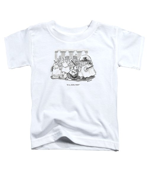Caesar Is Murdered By Historical Mob Toddler T-Shirt
