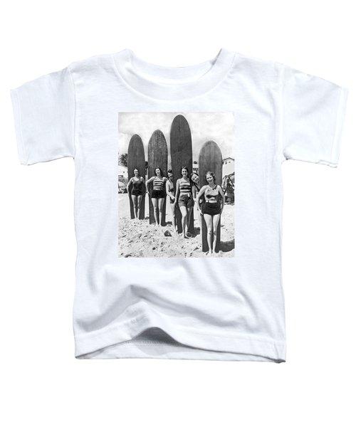 California Surfer Girls Toddler T-Shirt