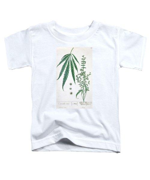 Cannabis Toddler T-Shirt