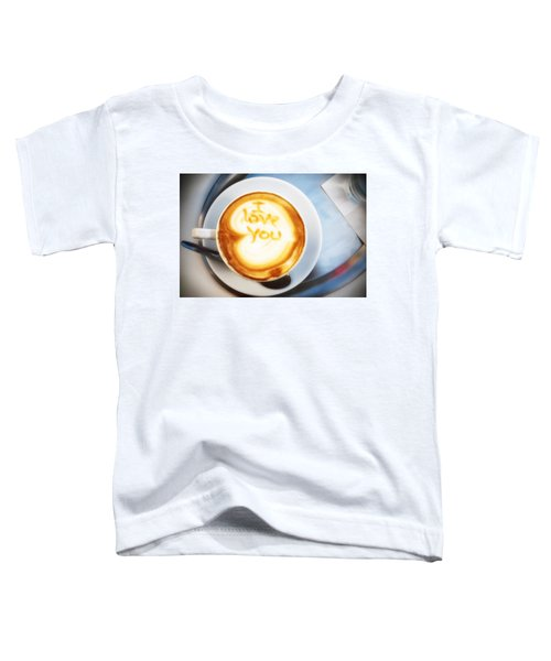 Cappuccino Toddler T-Shirt